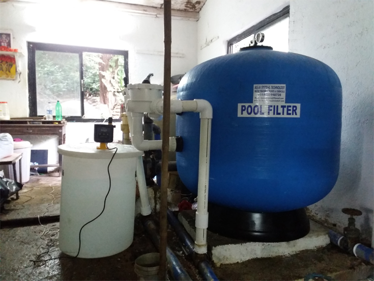 Swimming Pool Filtration Plant Pool Filter Treatment